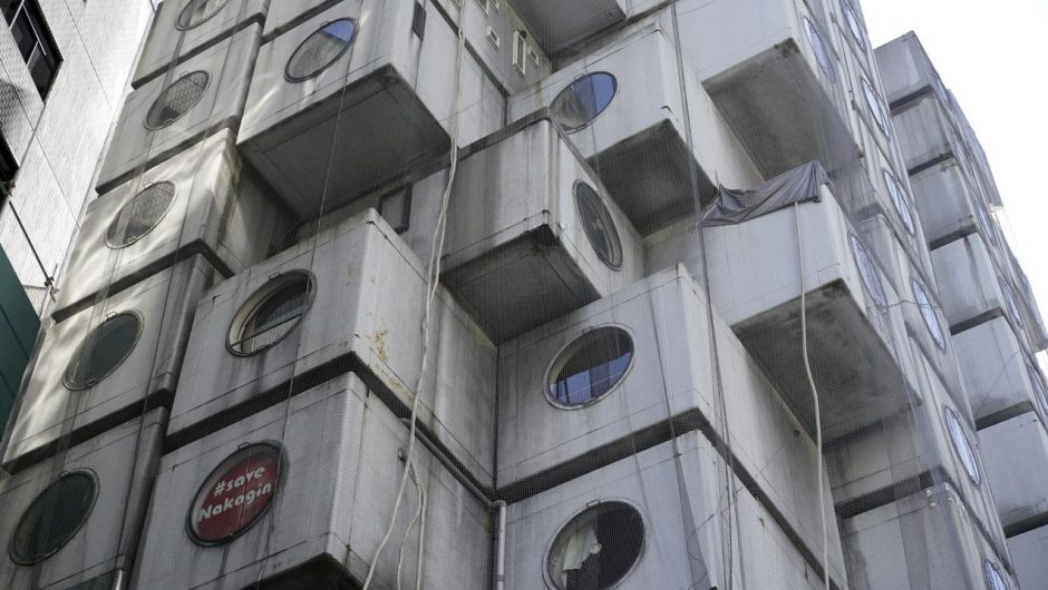 Tokyo.  The Nakagin Capsule Tower will be dismantled