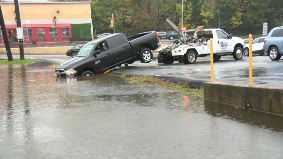 United States of America.  New Jersey, New York and Massachusetts.  Norster hit the east coast.  Flooded roads and broken trees