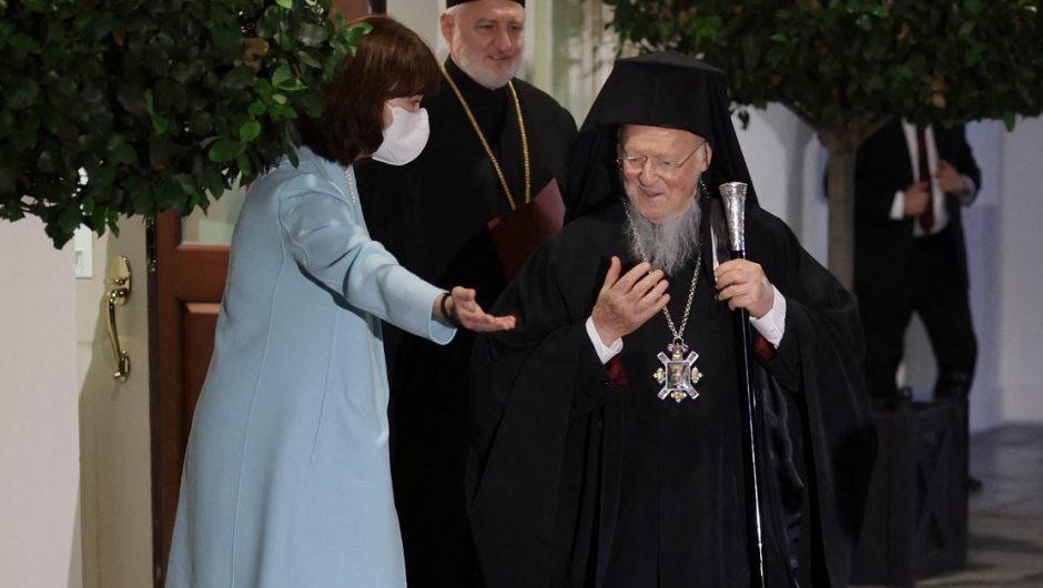 United States of America.  President Biden met with Patriarch Bartholomew I.