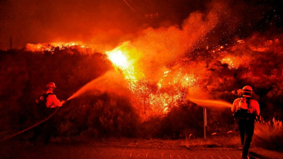 """United States of America.  The Alisal fire in California is spreading.  """"Everything is in the hands of the wind"""" [ZDJÊCIA] 
