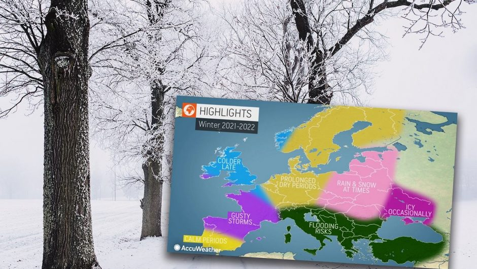 Winter weather in Europe, a wave of frost and ice storms.  What about Poland?