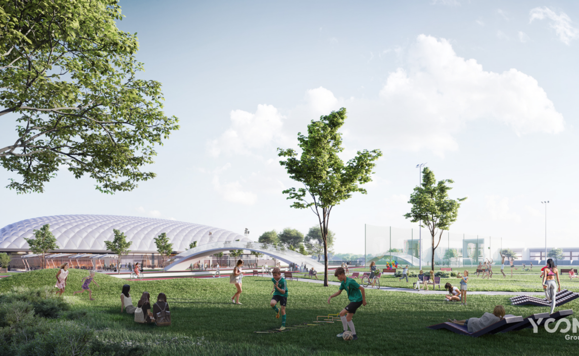 Wroclaw Sports Center for residents and sports staff
