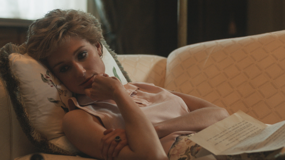the crown.  There are new images from the fifth season.  Debicki as Diana, West as Carol